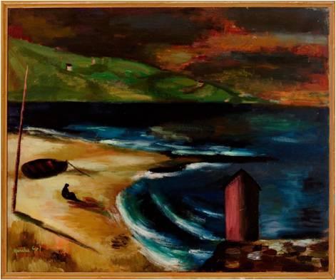 Marinas. Colección Fundación Menchu Gal. Pintura española del siglo XX.