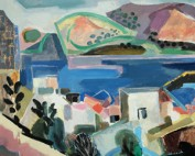 Marina, cuadro de la pintora española Menchu Gal. Arte contemporaneo español