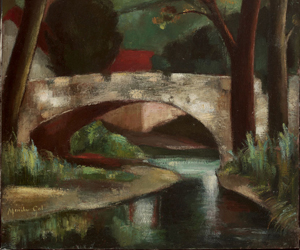 Paisajes. Cuadro de Menchu Gal. Pintura española del siglo XX