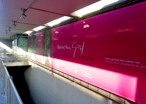 Exposicion Menchu Gal entre Paris y Madrid en Donostia